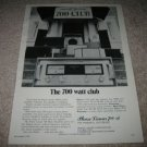 Phase Linear700-B Amp Ad from 1974,The 700 Club!CARVER
