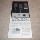 HH Scott 314 Tube Tuner Ad from 1955,Super RARE!