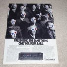 Technics SA-R477 Receiver Ad, 1989, Article, Rare Ad!