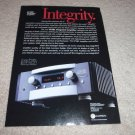 Mark Levinson No 383 Integrated AMp Ad from 2000