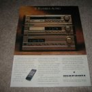Marantz Ensemble 9 Audio Ad from 1994,CD,Cass,Receiver