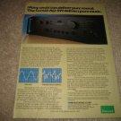 Sansui AU-919 Amplifier Ad from 1979,specs,1 page