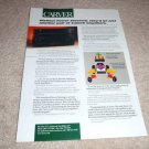 Carver AV-505,AV-705x Amplifier AD from 1996
