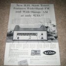 Scott Model 320 AM/FM Tube Tuner Ad from 1959