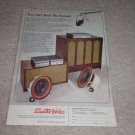 Electro-Voice EV-4,6,15trx,668,Speaker,Amp Ad,1967