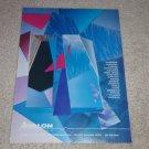 Avalon Speaker Ad, 1991, Work of Art! Frame it!