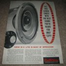 Electro-Voice LT8 3 way speaker Ad from 1965,rare!