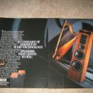 Altec Lansing 511 Speaker Ad from 1990, 2 page, rare!