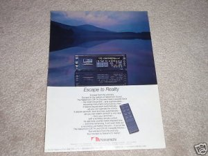 Nakamichi CR-7A Cassette Deck Ad, 1985, Amazing Deck!