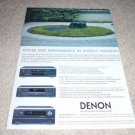 Denon DVD-2800 Mk 2,DVM-4800,AVR-4802 Ad from 2002