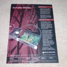 Sonic Frontiers Processor 3 D/A Ad, 1995, Article, RARE
