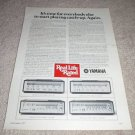 Yamaha CR-2020,1020,820,620 Receiver Ad from 1977 #2