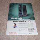 Polk RT2000p Speaker System Ad from 1998