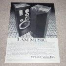 Marantz 940 Speaker Ad, 1 page, Article, RARE! 1979