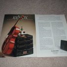 Revox B200-S system 2 page Ad from 1989,Tape,CD,amp,FM