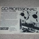 "OTARI MX-5050 Open Reel Ad, Article,RARE AD!1975, 6""x9"""