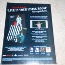 David Bowie, David Live,Stage DVD/CD Ad, 2005,1 page