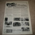 Altec Lansing 360 Amplifier Ad from 1964