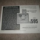 Magnecord 1024 Reel to Reel Ad from 1964