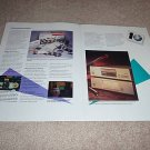 Sony 8 page brochure from 1991, mint! CD 10 year anvsry