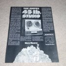 Ampex AX-300 Open Reel Ad, 1971, Article, Info