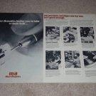 Micro-Acoustics Ad,1977, 2 pgs, Company Info, Rare Ad!