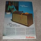 Electro-Voice E-V Seven 7 Speaker Ad,1967,Article,Specs