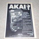 Akai Open Reel/Cassette GX-1900d Ad, 1972,Article,RARE!