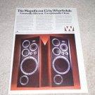 Wharfedale E-70,E-50 Speaker Ad,1979, Article, Rare Ad!