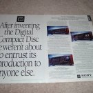 Sony ES Ad,2 pages,GX10es Rec,WR11es Tape,707esd CD