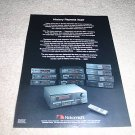 Nakamichi entire line from 1993 Ad, 1 page, cassette,cd