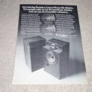 Technics SB-4500A Speaker Ad, 1978, Article