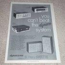 Dynaco Stereo 120,PAT 4, FM-5, A-35 Speaker Ad, 1972