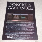Teac Z-6000 Cassette Ad, 1983, Best ever! Article,specs