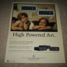 Proceed HPA 2 and 3 Ad from 1999, High Powered Art