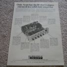 Scott 260 Receiver Ad from 1965, specs,NICE!