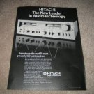 Hitachi SR 804 Receiver AD from 1978 Mint
