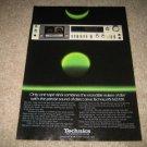 Technics Cassette Deck Ad from 1981 DBX!