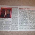 EPI T/E Series II Speaker Review,1983,2 pgs, Full Test