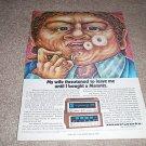 Marantz 4130 QUAD Amp Ad, 115B Tuner AD from 1973, RARE