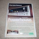 Sansui 9090 Super Receiver Ad, 1977, Article, 1 page