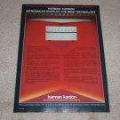Harman Kardon Ad, 1983 hk870 Amplifier,hk825 Pre,Articl