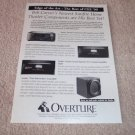 Sunfire Cinema Grand Signature, True Sub, Ad from 1999