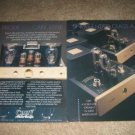 Cary Audio Design Class A Tube Amps Ad from 1995