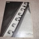Sony TA-1120 Integrated Amplifier Ad, 1968, full specs