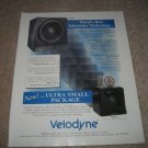 Velodyne HGS Series Subwoofer Ad from 1997,Article,Spec