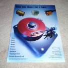 Musical Surroundings Basis Turntable Ad,1998,Micro Benz