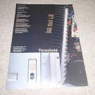 Threshold SA/12/Class A e series, Ad from 1989