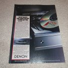 Denon DCD-1520 Ad from 1989