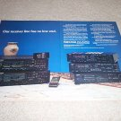 Nikko Receiver Line Ad from 1989,NR-1050,850,750,650